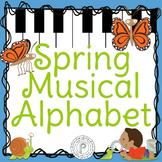 Spring Music Game: Musical Alphabet