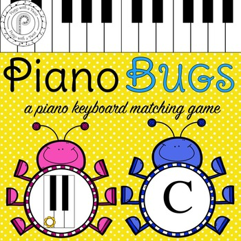 Spring Music Game: Piano Keyboard Bugs