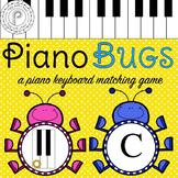 Spring Music Game: Piano Keyboard Bugs