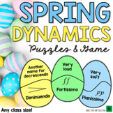 Spring Music Games & Easter Music Activities - Dynamics