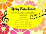 Spring Music Lesson: Boomwhacker and Ostinato