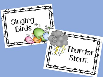 Spring, Music Listening & Movement Lesson
