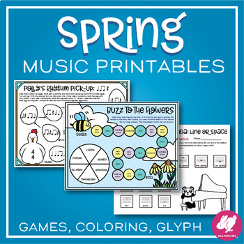 Spring Music Worksheets