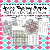 Spring Mystery Graph - Plot Points on the Coordinate Plane to Create a Picture