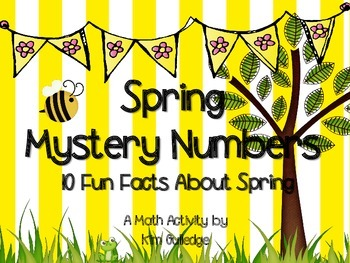 Spring Mystery Numbers
