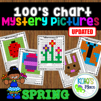 Spring Mystery Pictures 100s Chart