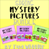 Spring Mystery Pictures Addition Subtraction Within 20 Bundle
