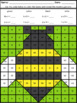 Spring Mystery Pictures Basic Multiplication and Division Facts