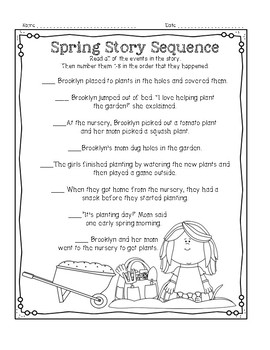 Spring NO PREP Activities and Printables