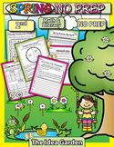 Spring NO PREP - Math & Literacy (Second)