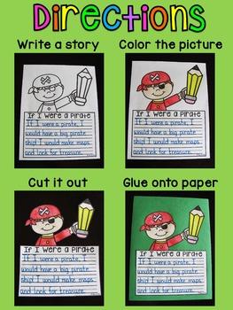 Spring Writing Crafts Bundle (No Prep Writing Activities)