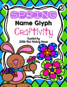 Spring Name Glyph Craftivity