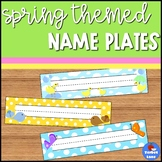 Spring Name Plates