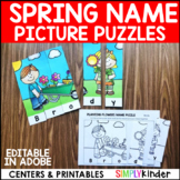 Spring Name Puzzles