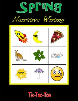 Spring Narrative Writing (Tic-Tac-Toe)
