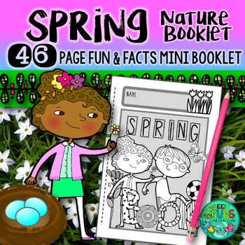 Spring Nature Booklet {A booklet of activities celebrating
