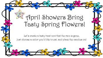 Spring Edible Flower Language Activity!