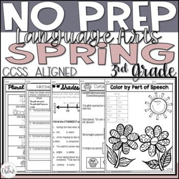 Spring NO PREP ELA