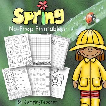 Spring No Prep Pack