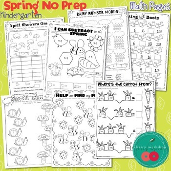 Spring Activities for Kindergarten