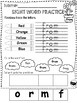 Kindergarten/1st Grade Math and Literacy Printables-Spring