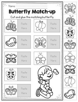 Spring No-Prep Packet {Preschool}