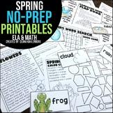 Spring {No Prep Practice}