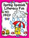 Spring NO PREP Spanish Literacy Centers:  Primavera, actividades y centros.