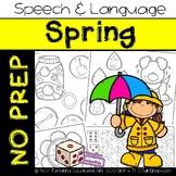 Spring: No Prep Speech and Language