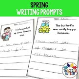Writing Prompts for Spring Worksheets