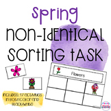 Spring Non-Identical Sorting Activities