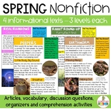 Spring Nonfiction Earthworms, Frogs, Rainbows, Rabbits