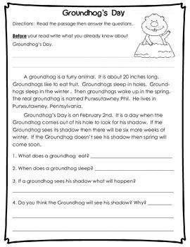 Spring Nonfiction Reading Comprehension Passages