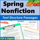 Spring Nonfiction Text Structure Passages