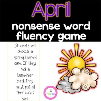 Spring Nonsense Word Fluency Game