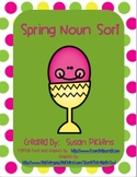 Spring Noun Sort (Person, Place, Thing)