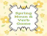Spring Noun & Verb Game