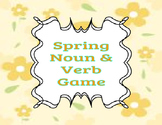 Spring Noun & Verb Game
