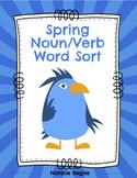 Spring Noun/Verb Word Sort