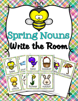 Spring Nouns Write The Room Activity