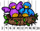 Spring Number 0-100 and Skip Counting Puzzles