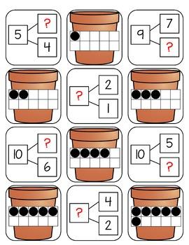 Spring Number Bond Games (Numbers 0 - 10)