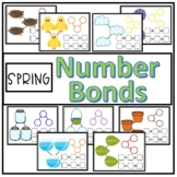 Spring Number Bond Math Mats