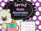 Spring Math Mountains and Number Bonds
