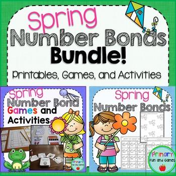Spring Number Bonds Bundle