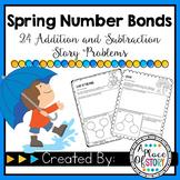Spring Number Bonds (Common Core Aligned K.OA.1 & K.OA.2)