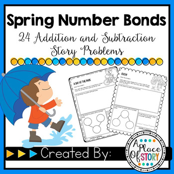 Spring Number Bonds (Common Core Aligned K.OA.1 & K.OA.2)