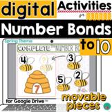 Spring Number Bonds DISTANCE LEARNING