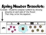 Spring Number Bracelets