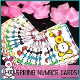 Spring Number Cards